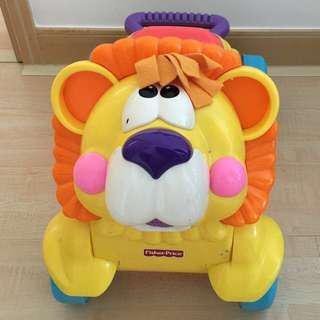 Fisher-Price stride to ride lion walker