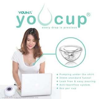 Youha Youcup breastfeeding breastpump nursing