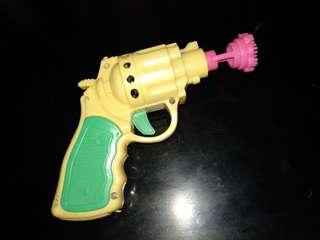 Mainan pistolan busa sabun (tiup gelembung sabun)