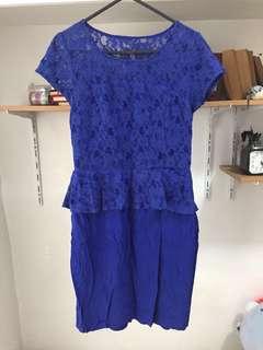 Paperdolls Blue Lace Dress