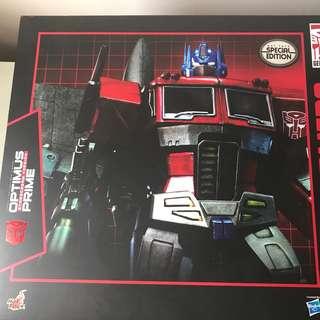 Hot Toys Optimus Prime Starscream exclusive