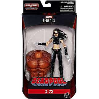 全新現貨 連BAF Marvel Legends X-Force Deadpool series X-23 6 inch Action Figure