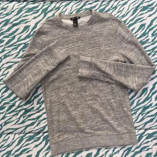 H&M Gray Longsleeves/Pullover