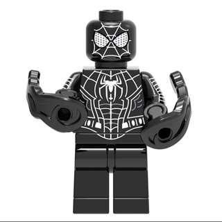 Lego Compatible Black Spiderman