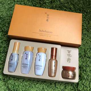 Sulwhasoo Concentrated Ginseng Renewing Ex-Light Kit (5items)