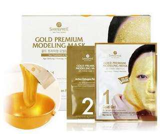 "Shangpree Gold Premium Modeling ""Rubber"" Mask"
