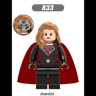 Lego Compatible Power Girl