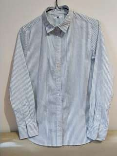 Uniqlo Stripe Shirt (Kemeja Garis-Garis Uniqlo)