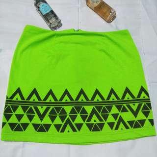 Gaudi tribal mini skirt