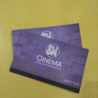 SM Cinema (Movie Pass) worth 500 pesos