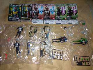 全新 掌動 SHODO 幪面超人6 六盒 食玩 23 24 25 26號連隱藏版 Super1 W 戰鬥員 怪人。