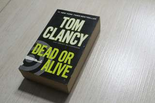 Tom Clancy Books: 3 for 350