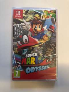 WTS- Super Mario Odyssey for Nintendo Switch