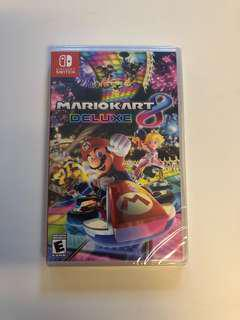WTS- Mario Kart Deluxe 8 for Nintendo Switch