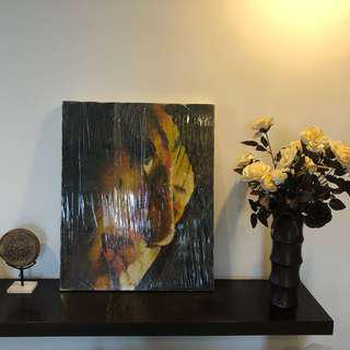 Canvas Oil Painting : Buddha (New)