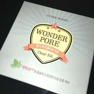 Etude House Wonder Pore Clear Kit