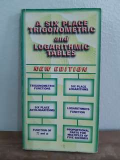 Trigonometric and Logarithmic Tables