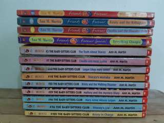 The Babysitters Club (bundle)