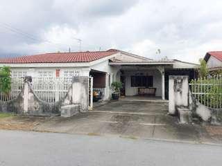 Bangalow For Sale, Taman Long Jaafar A, Taiping