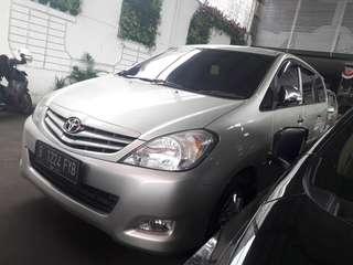 Toyota Inova E upgrade G 2011 matik bensin Silver DP HANYA  7JT Hub.081288607373