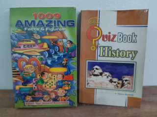 General Knowledge books (bundle)