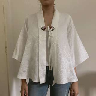 Kohlur Beaded Cape Top