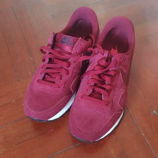 Nike Air Pegasus 83 Suede Team Red US 9.5 UK 8.5 EUR 43 27.5CM