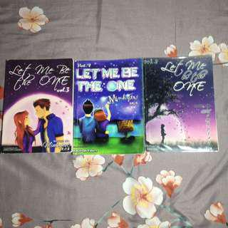 Wattpad books : Let me be the one 1,2&3 (bundle)