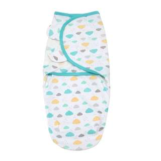 🚚 SW020 New Baby Newborn Infant SWaddle Size Newborm 0-3M Clouds