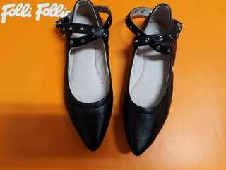 DAPHNE鞋 達芙妮鞋 芭蕾舞 平底鞋 鉚釘
