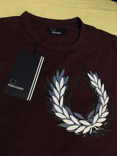 Fred Perry Laurel Wreath T-Shirt Size XL BNWT