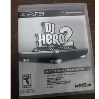 PS3 DJ HERO 2 COMBO