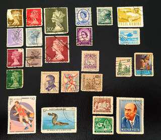Vintage Stamps from various countries