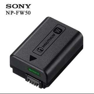 Sony NP-FW50 original battery (New)
