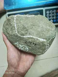 天然翡翠賭石 莫西沙 2.18公斤
