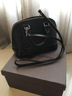 Louis Vuitton (LV) Alma Black small