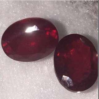 (2.65 Cts) EACH Natural Africa Ruby