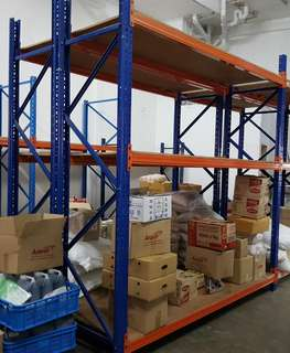 SALE ●USED● HEAVY DUTY RACKING H 3000MM ×W900MM × L2700MM more details  👉 98576677 👈 Thanks