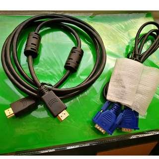 VGA / HDMI Cable (Each)