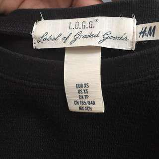H&M Black Longsleeves/Pullover