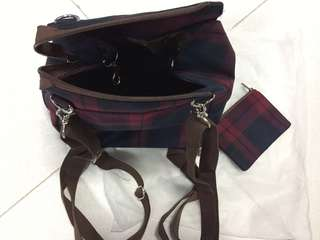 Brand New Made in Taiwan Sling cum Back Pack going cheap for $8 only