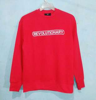 Crewneck REVOLUTIONARY by HM original