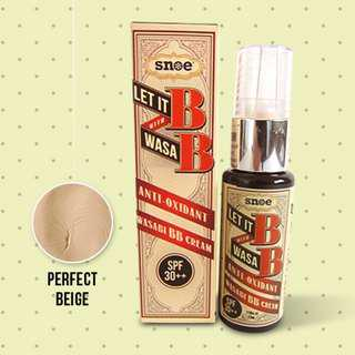 Snoe  Let It B With Wasa B BB Cream Perfect Beige