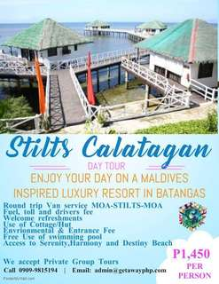 Stilts Calatagan Day Tour Early Booking