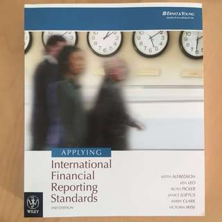Applying International Financial Reporting Standards - 2nd Ed.