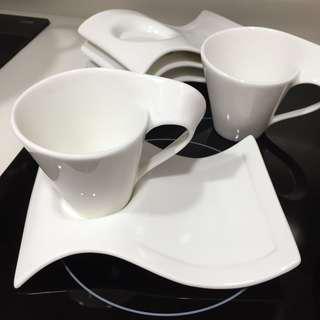 花茶杯 下午茶 杯碟 套裝 cups with plate set