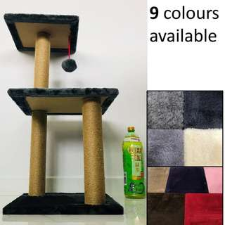 Cat Condo tree scratch post kitten climb play toy pole, not cage carrier bag cushion bed