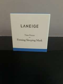 Brand new laneige time freeze sleeping mask 60ml