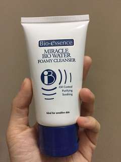 Bio essence miracle bio water foamy cleanser