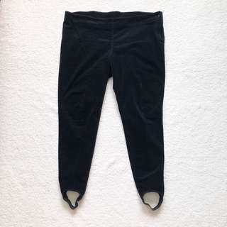 M&S Corduroy Stirrup Pants